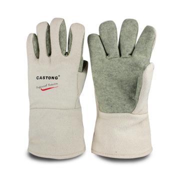卡司顿 隔热手套,GEII15-34,400°5指耐高温手套