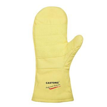 卡司顿 隔热手套,ABY-2T-34,500°2指掌部加强耐高温手套