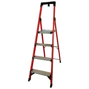 金锚 玻璃钢绝缘工作梯,踏板数:4 额定载荷(KG):150 工作高度(米):0.98,FO11-104