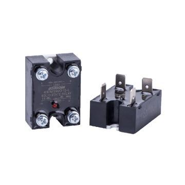 库顿KUDOM 单相面板安装固态继电器,KSIM240D10-L 10A 48-280VAC 4-32VDC控制