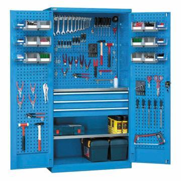西域推薦 雙開門工具柜,尺寸(mm):1023*555*1800,HK8315 02