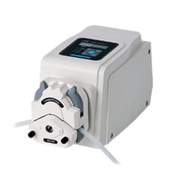 蠕动泵,兰格,BT100-2J,显示转速,转速范围:0.1-100rpm,流量范围:1.7-150ml/min