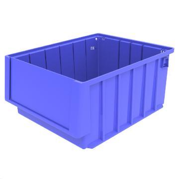 西域推荐 分隔式物料盒,外尺寸规格D*W*H(mm):300×235×140,全新料,蓝色,16个/箱