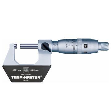 TESA 外徑千分尺,25-50機械式,00310002,不含第三方檢測