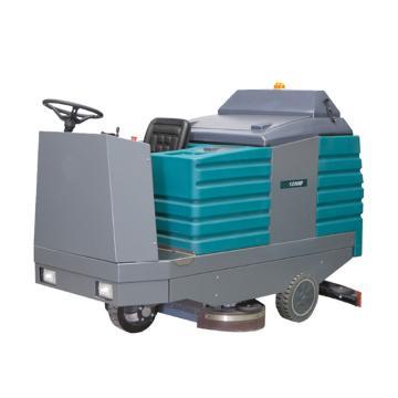 潔德美三刷駕駛式洗地機,1250B