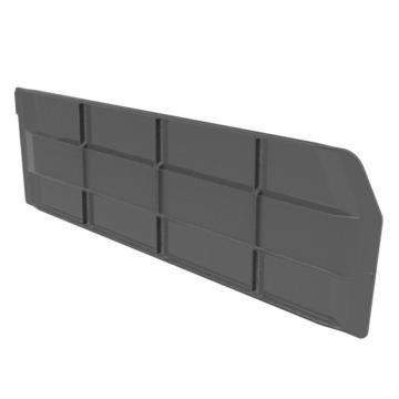 Raxwell 縱向分隔板,TK-H500,PS材質,加強筋結構,搭配TK5215/TK5315/TK5415,黑色