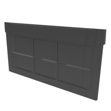 Raxwell 横向分隔版,TK-V300,PS材质,加强筋结构,搭配TK3315/TK5315/TK6315,黑色