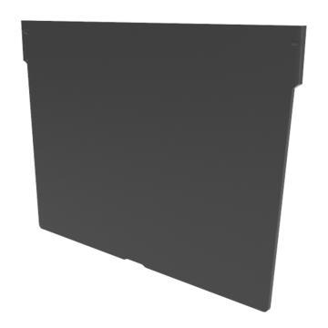 Raxwell 橫向分隔版,TK-V200,PS材質,平板結構,搭配TK3215/TK5215/TK6215,黑色