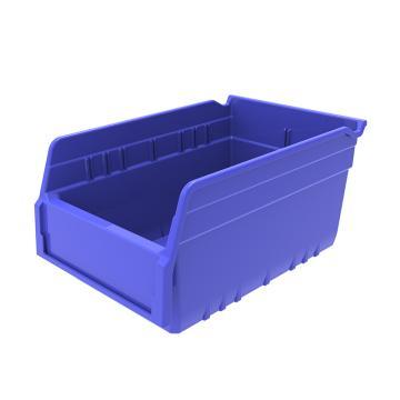 西域推荐 精益物料盒,外尺寸规格D*W*H(mm):300×200×150,全新料,蓝色,30个/箱