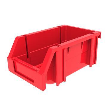 西域推荐 组立背挂斜口盒,外尺寸规格D*W*H(mm):160×100×74,全新料,红色,24个/箱
