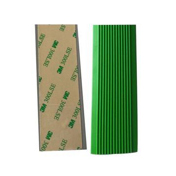 安赛瑞 自粘式PVC楼梯防滑条-绿,PVC材质,覆3M背胶,40mm×30m,厚度3mm,13833