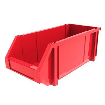 西域推荐 组立背挂斜口盒,外尺寸规格D*W*H(mm):450×200×177,全新料,红色,12个/箱