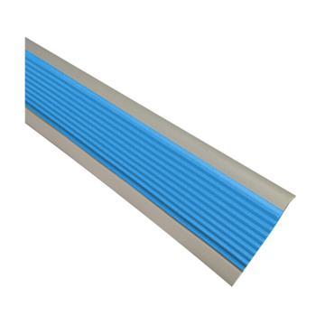 安赛瑞 PVC楼梯包边防滑条-蓝/灰,PVC材质,50mm×25m,厚度3mm,13862
