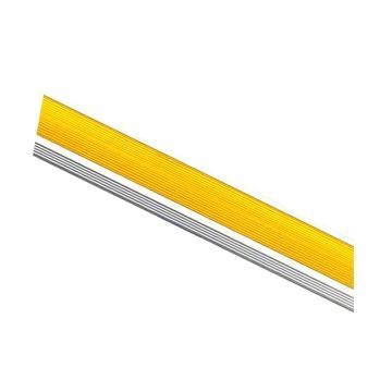 安赛瑞 铝合金楼梯包边防滑条-黄,长度1.5m,宽45×高18×厚1mm,13867