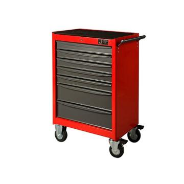 捷科JETECH 7抽屉工具车,RC-7,多功能工具箱 工具推车 工具柜 移动维修工具车