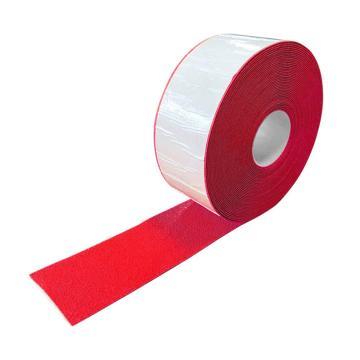 安赛瑞 重载型反光划线胶带-红,1mm厚塑胶材质,100mm×20m,12376