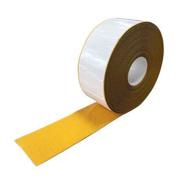 安赛瑞 重载型反光划线胶带-黄,1mm厚塑胶材质,100mm×20m,12377