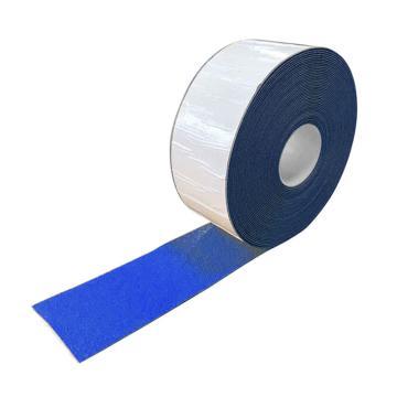 安赛瑞 重载型反光划线胶带-蓝,1mm厚塑胶材质,100mm×20m,12378