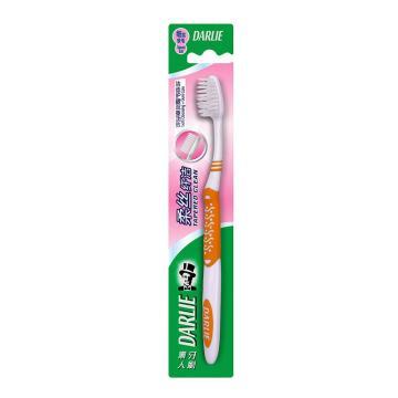 黑人darlie牙刷,BC5柔絲纖潔中國軟(CSX)