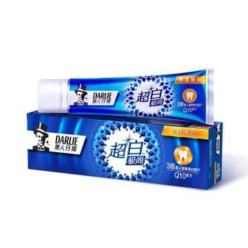 黑人darlie超白極尚果漾薄荷牙膏,120g