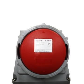 罗格朗 明装插座,IP 66/67 AC 380/415V 125A 3P+N+E,555659