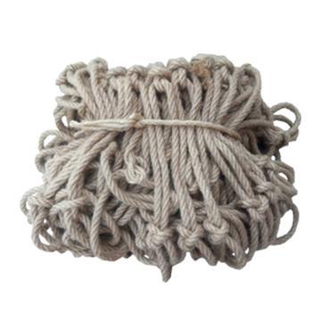 安赛瑞 麻绳安全网,Φ10mm,3×3m,网孔10cm,12525