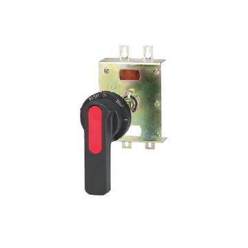 德力西DELIXI 塑壳断路器附件,CDM3-100FN 圆形延伸转动手操,10个/包