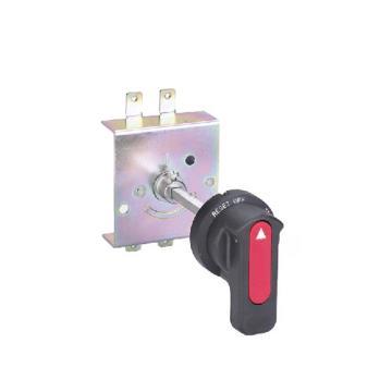德力西DELIXI 塑壳断路器附件,CDM3-100FN 圆形延伸转动手操 杆长500mm,10个/包