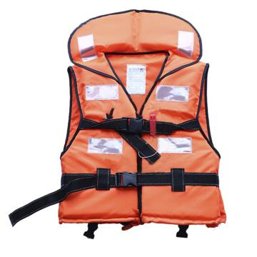 安賽瑞 國標帶領式救生衣(綁腿款)牛津布+高浮力EPE芯材,配1個救生口哨及6片反光片,21650