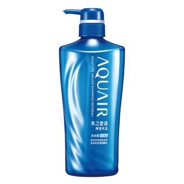 資生堂600ml水之密語凈澄水活控油型洗發露,(9瓶/箱) 單位:瓶