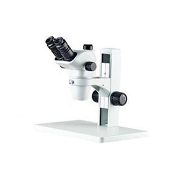 测维 数码连续变倍体视显微镜,PXS6745T-SM,三目头部,300万像素彩色数字成像系统;目镜:10X;连续变倍物镜0.67-4.5X;放大倍数6.7-45X;配环形LED灯;配大底板力臂式支架