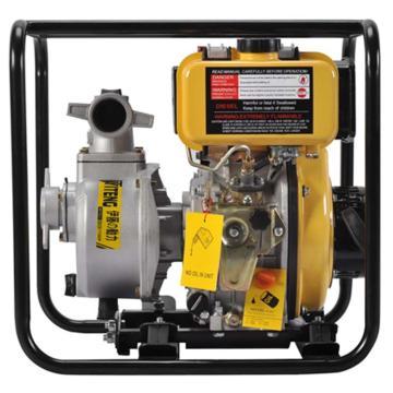 伊藤动力 2寸柴油机抽水泵自吸泵,YT20DP,手启动,最大吸程8米