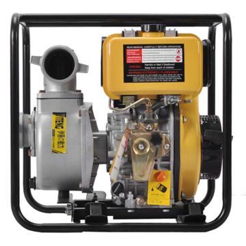 伊藤动力 3寸柴油抽水泵,YT30DP,手启动,最大吸程8米