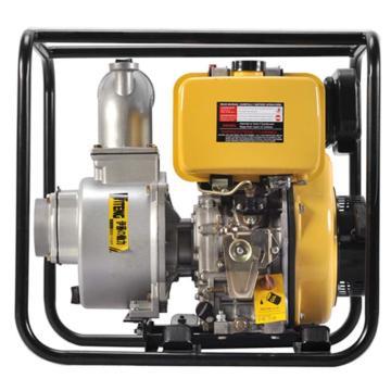 伊藤动力 4寸柴油机抽水泵自吸泵,YT40DP,手启动,最大吸程8米