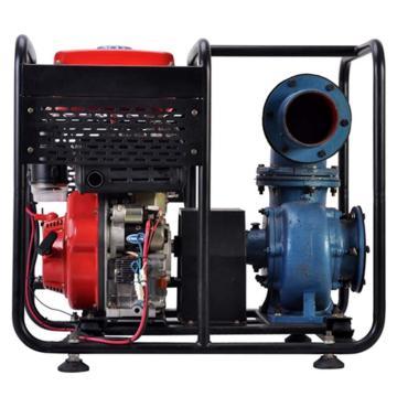 伊藤动力 6寸柴油机抽水泵自吸泵,YT60DP,手启动,最大吸程6米