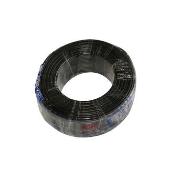 美河 电线,BVR 4 黑色,100米/卷