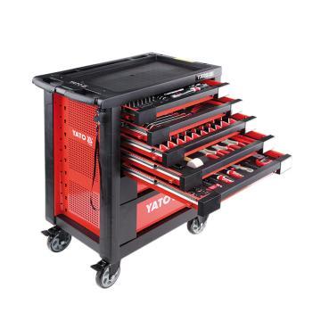 易尔拓YATO 高档211件套7抽屉工具车组套,958 x766x465mm,YT-55290