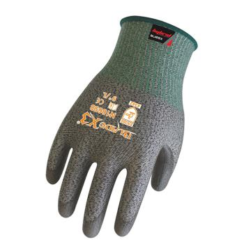 賽立特 3級防割手套,N10658-9,灰色PU涂層