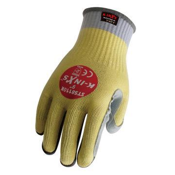 賽立特 5級防割手套,ST58110K-9,10針KFT針織內膽防切割手套