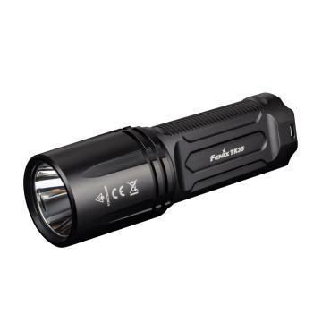 Fenix 超亮多功能LED手電筒,TK35黑色 不含18650鋰電池,單位:個