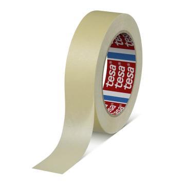德莎 轻微褶皱纸基材遮蔽胶带,长度:50m,宽度:25mm,型号:tesa-4329
