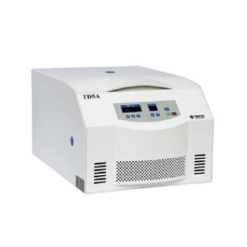 TD5A 台式低速离心机,脱泡离心机,配4×30ml水平转子,可以处理10cc 及 30cc 胶管,转速300-4000rpm之间可调
