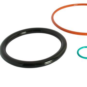 上海汉升耐油橡胶I-2丁腈橡胶O型圈,130*5.7(内径*线径),标准GB3452.1-92,5个/包