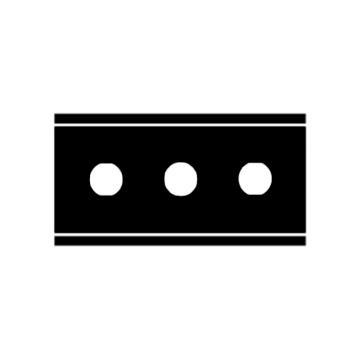 Martor 安全刀片,隐藏式OPTICUT安全刀具标配刀片, 37040