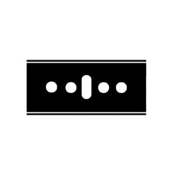 Martor 安全刀片,隐藏式EASYSAFE安全刀具不锈钢刀片,145