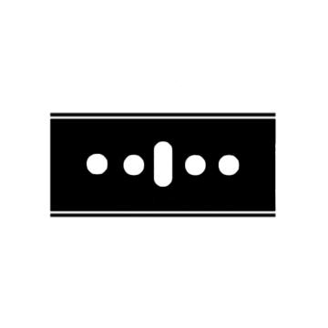 Martor 安全刀片,隐藏式EASYSAFE安全刀具标配刀片,45