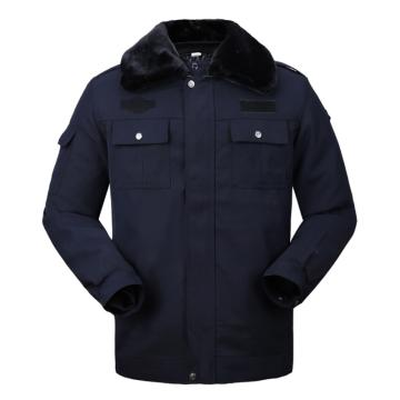西域推薦 保安棉服,藏青色 180