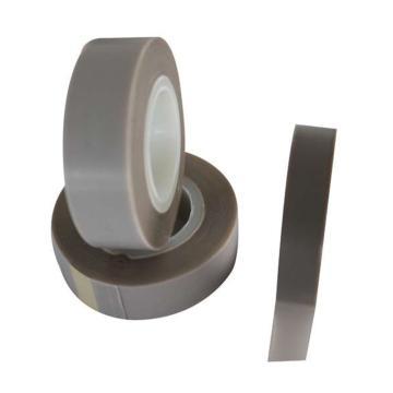 美澳 特氟龍耐高溫膠帶,純膜,半透明,灰色,0.08mm*50mm*10m