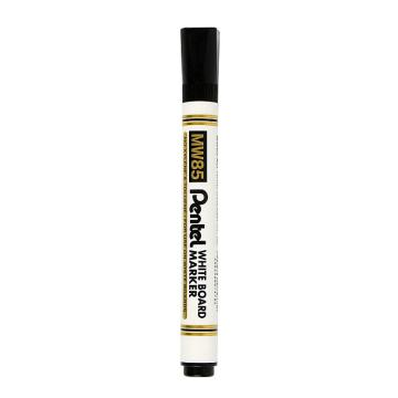 派通 白板圓頭記號筆,MW85黑色4.2mm 單支