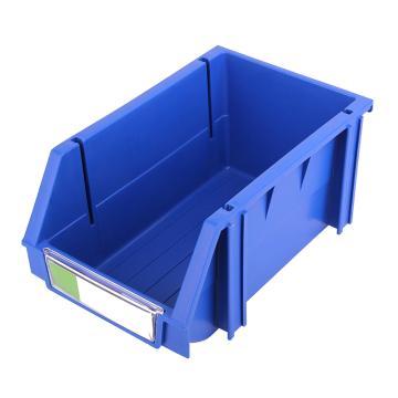 力王 组立零件盒,160*100*74mm,全新料,50个/箱,PK-001-蓝色